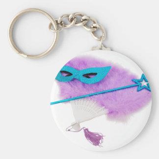 DramaTheater040509 Basic Round Button Key Ring