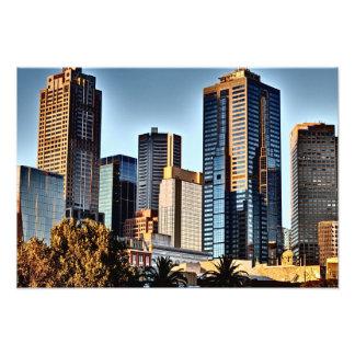 Dramatic Cityscape Art Photo