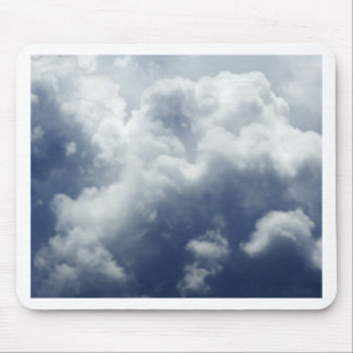 Dramatic clouds mouse pads