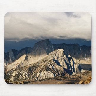 DRAMATIC CLOUDS OVER SIERRA NEVADA LANDSCAPE MOUSE PAD
