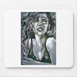 dramatic diva mouse pad