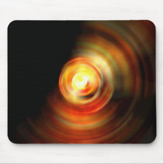 Dramatic Fire Drop Mouse Pad
