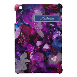 Dramatic Inks Abstract Purple Case For The iPad Mini
