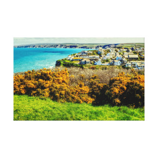 Dramatic North Cornwall Canvas Print