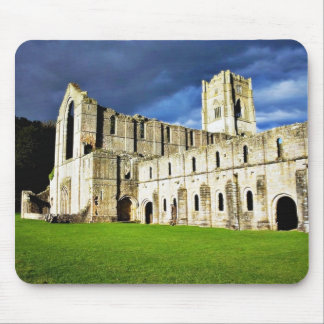 Dramatic Picture Of Fountains Abbey Right Before S Mouse Pad