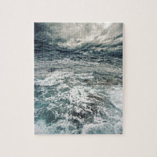 Dramatic Seas Jigsaw Puzzle