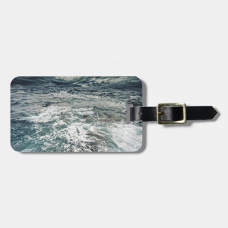 Dramatic Seas Luggage Tag