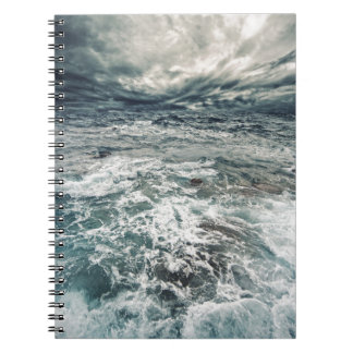 Dramatic Seas Spiral Notebook