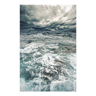 Dramatic Seas Stationery