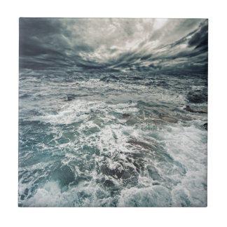 Dramatic Seas Tile