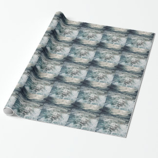 Dramatic Seas Wrapping Paper