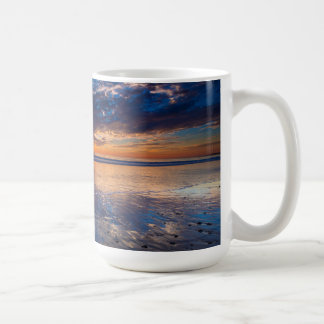 Dramatic seascape, sunset, CA Coffee Mug