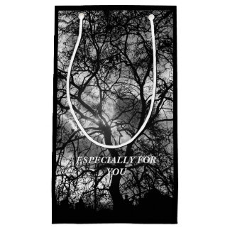 Dramatic Tree Silhouette Especially For You Small Gift Bag