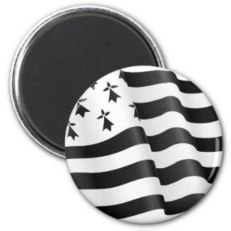 Drapeau breton (Breton flag) Magnet