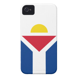 Drapeau de Saint Martin - Flag of Saint Martin iPhone 4 Covers