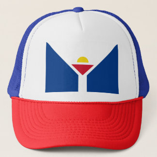 Drapeau de Saint Martin - Flag of Saint Martin Trucker Hat
