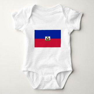 Drapeau d'Haïti - Flag of Haiti Baby Bodysuit