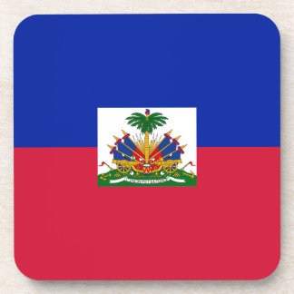 Drapeau d'Haïti - Flag of Haiti Coaster