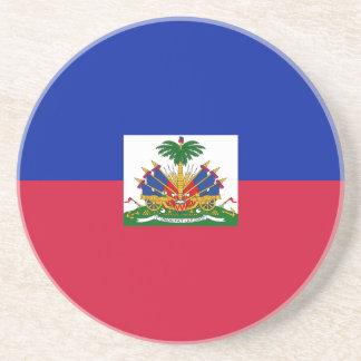 Drapeau d'Haïti - Flag of Haiti Coaster