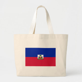 Drapeau d'Haïti - Flag of Haiti Large Tote Bag