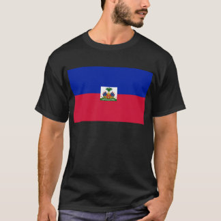 Drapeau d'Haïti - Flag of Haiti T-Shirt