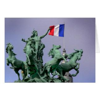 Drapeau français - Postcard from Paris4