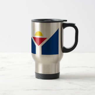 Drapeau of Saint Martin - Flag of Saint Martin Travel Mug