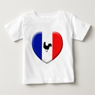 Drapeaux France coils cock Baby T-Shirt