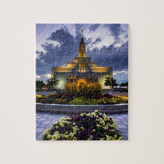Draper Mormon Lds Temple - Utah Jigsaw Puzzle