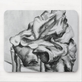 Drapery on a Chair, 1980-1900 Mouse Pad