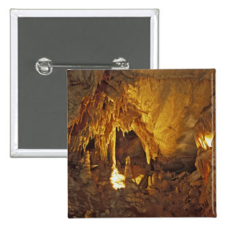Drapery Room, Mammoth Cave National Park, 15 Cm Square Badge