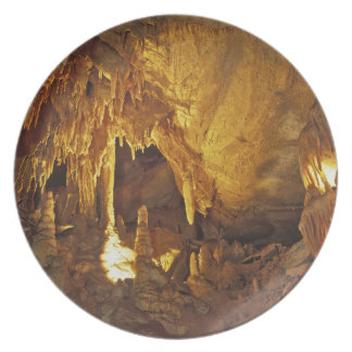 Drapery Room, Mammoth Cave National Park, Party Plate