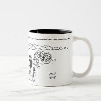 Draw Me Two-Tone Coffee Mug