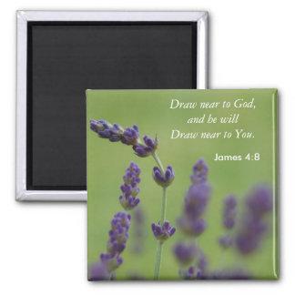 Draw Near to God Magnet
