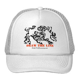 Draw the Line Trucker Hat