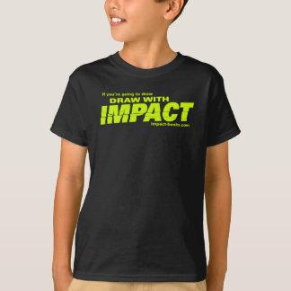 Draw with Impact kids tshirt-dark T-Shirt