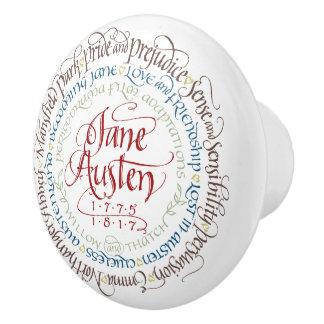 Drawer / Cabinet Knob - Jane Austen Period Dramas