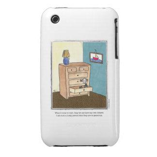 DRAWER cartoon by Ellen Elliott Case-Mate iPhone 3 Case