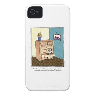 DRAWER cartoon by Ellen Elliott Case-Mate iPhone 4 Cases