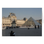 Drawing at The Louvre 2 Greeting Card