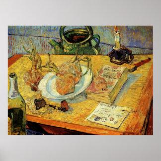 Drawing Board, Pipe, and Sealing-Wax by Van Gogh Print