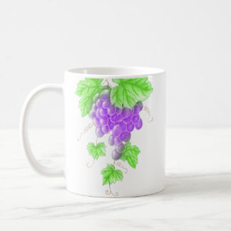 drawing grape mug