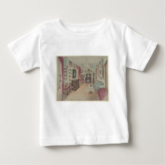 Drawing of an Interior- Cabinet du Salon Baby T-Shirt