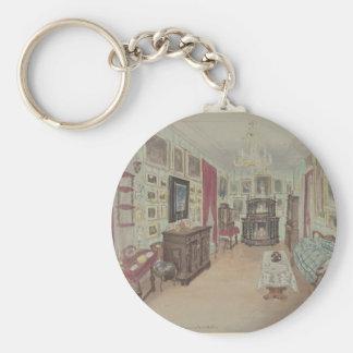Drawing of an Interior- Cabinet du Salon Key Ring