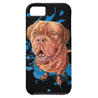 Drawing of Brown Mastiff Dog Art and Paint iPhone 5 Case