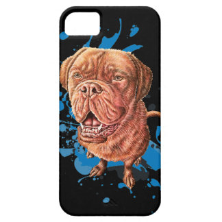 Drawing of Brown Mastiff Dog Art and Paint iPhone 5 Cover