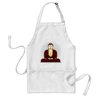 Drawing of Buddha Standard Apron