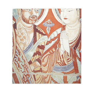 Drawing of Central Asian Buddhist Monks Notepad