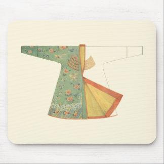Drawing of Half-Finished Kimono Mouse Pad