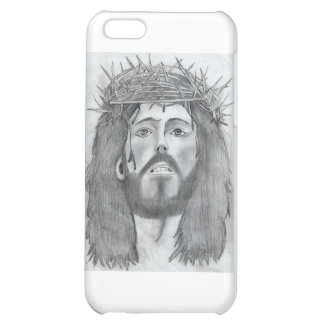 drawing of Jesus iPhone 5C Cases